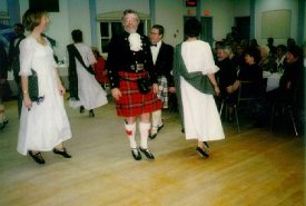 Burns Supper, St. Andrew's Society, January 2001