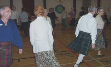 Dancers dancing Napier's Index