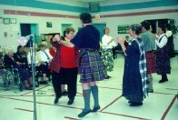 Burns Night at Glenbrook Lodge, February 1998