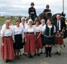 Bell Island September 8th 2012 with piper David Shears of the St. John's Pipe Band