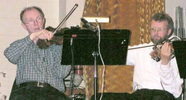 Two Fiddlers: Stewart Gillies and Alastair Black