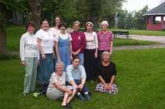 Group photo - Bannerman Park